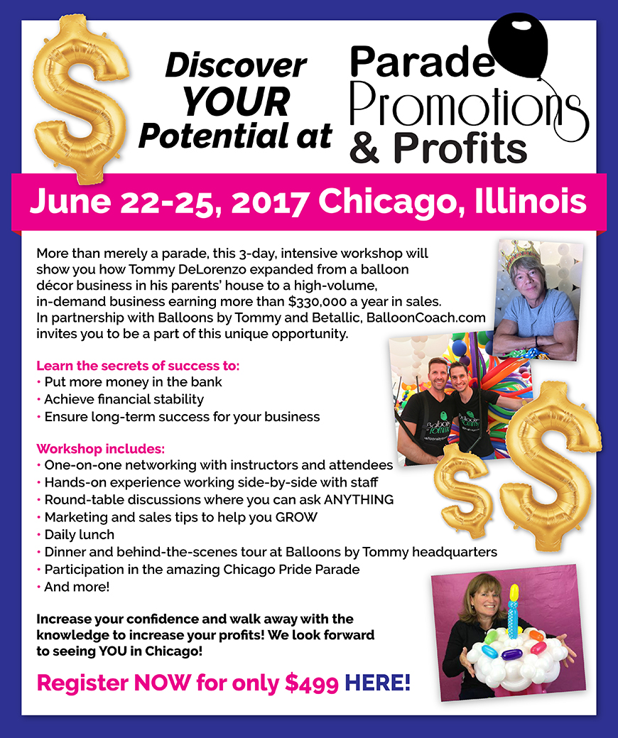 Parade Profits Promotions